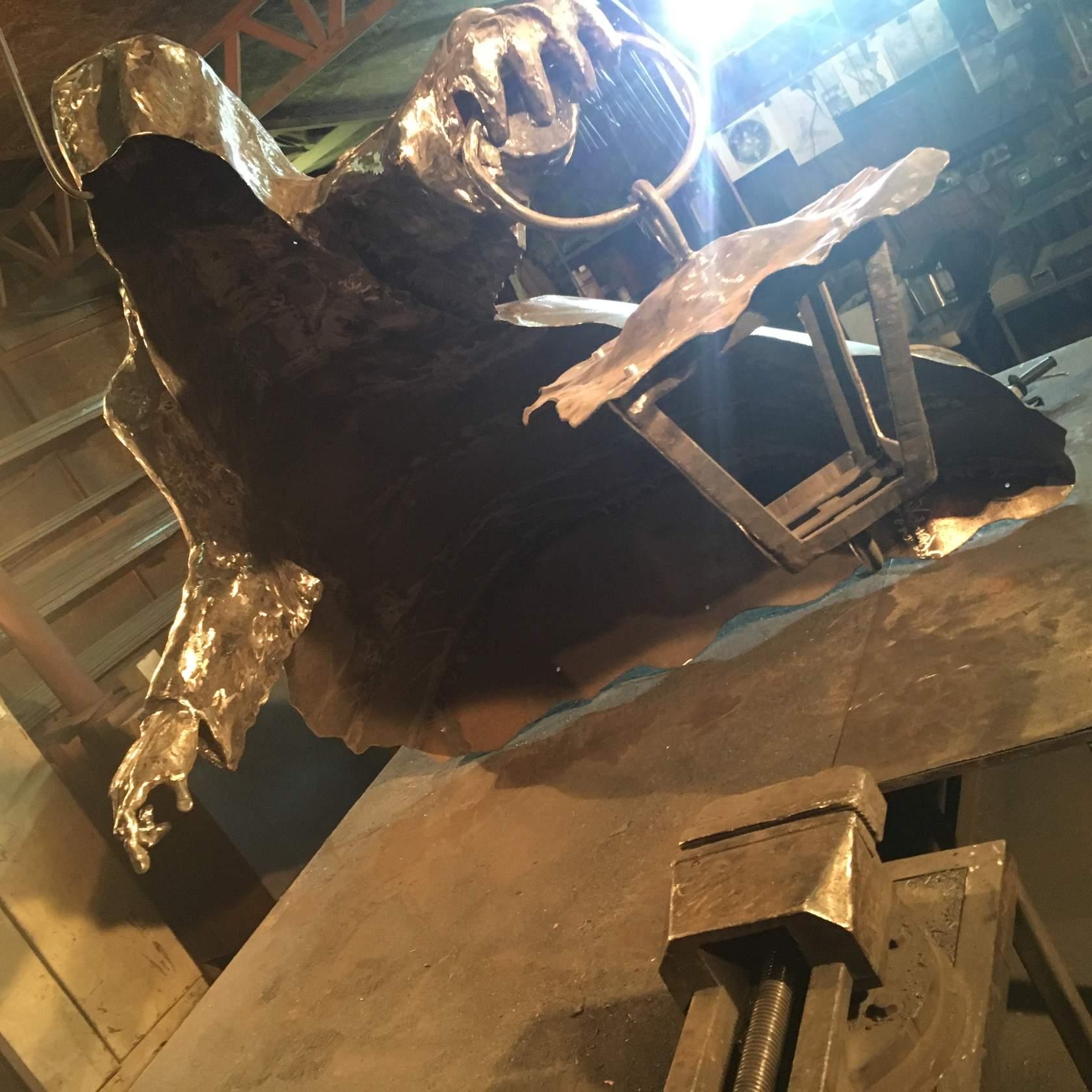 кованная скульптура недорого купить в Челябинске